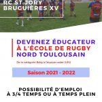RECRUTEMENT DE NOUVEAUX EDUCATEURS!